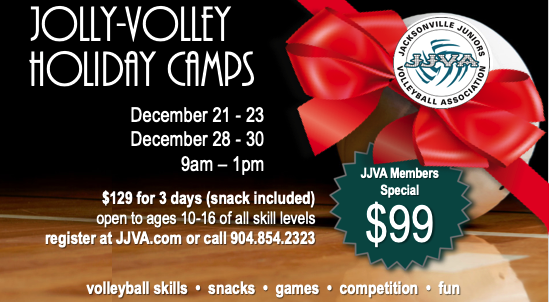 Winter Break Volleyball Camp